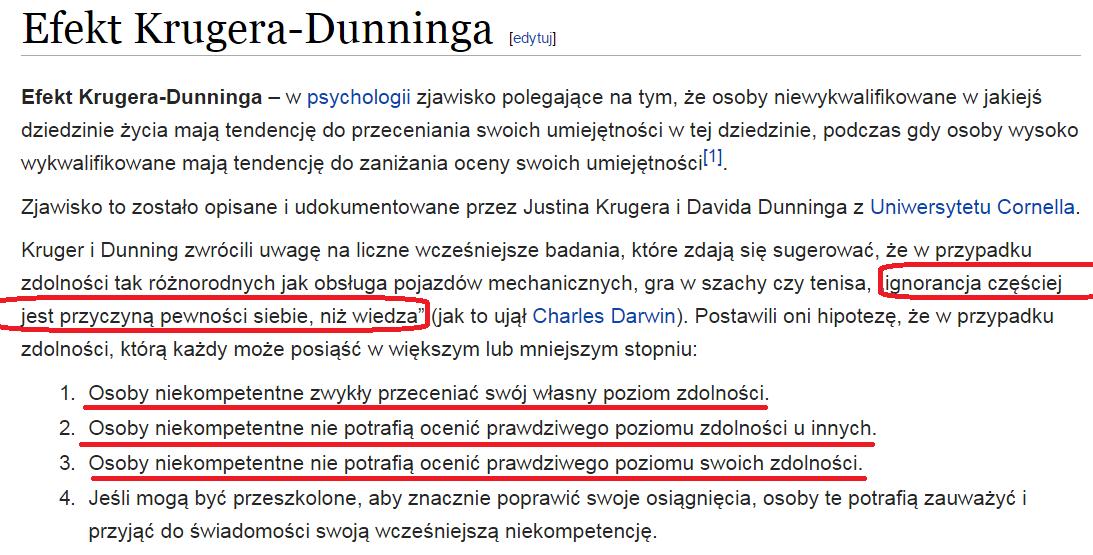 Efekt Krugera-Dunninga