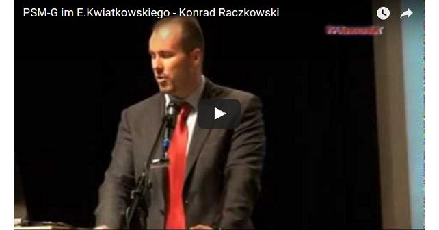 Dymisja Raczkowskiego Konrad Raczkowski prezentacja