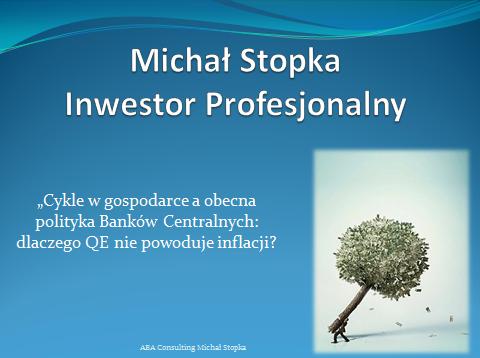 prezentacja z wykładu w poznaniu o cyklach w gospodarce