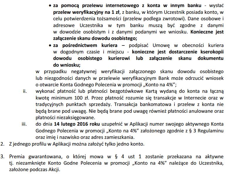 Zasady udziału w promocji BZWB dwa